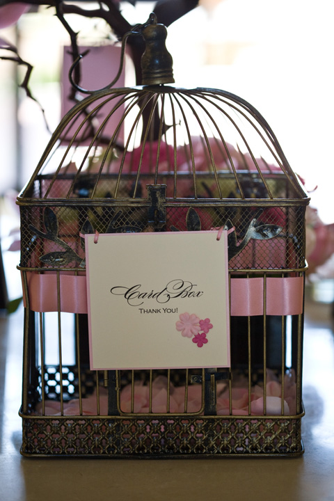 Wedding Decor – Birdcage Wedding Card Box